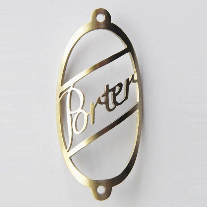 Porter Custom Headbadge