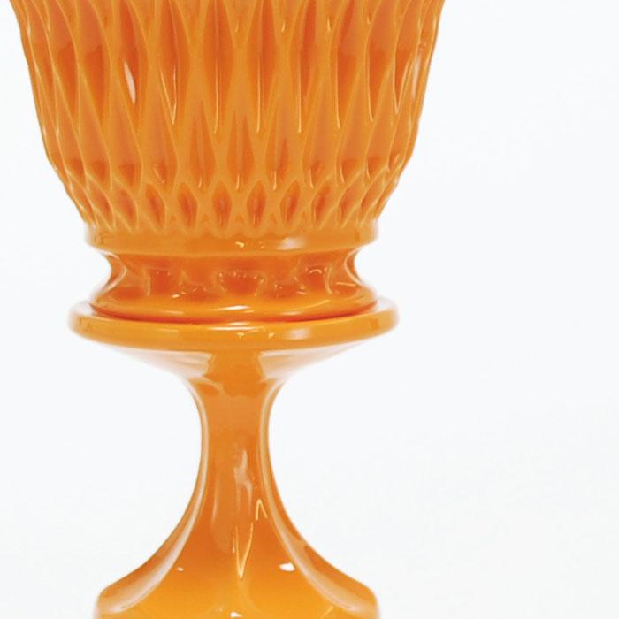 Orange Diamond Cup Double Stack