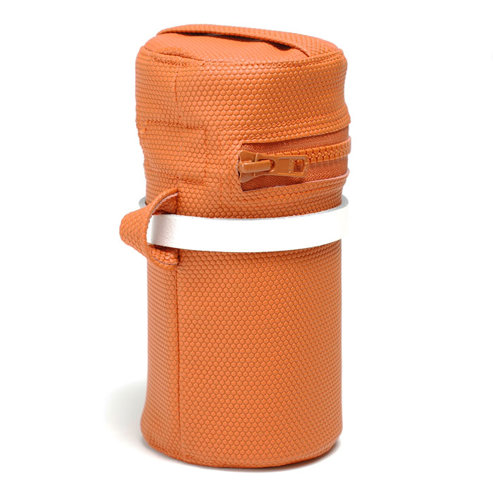 Orange Saddle Bag