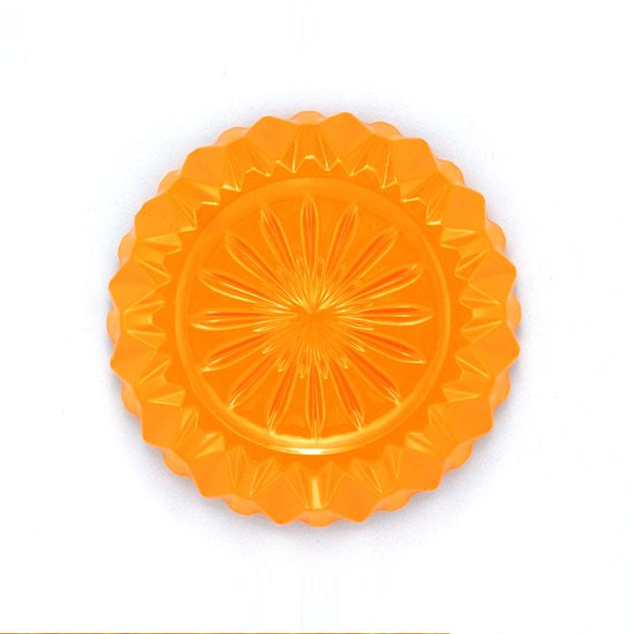 Carl & Rose | Singleton -Orange 4″