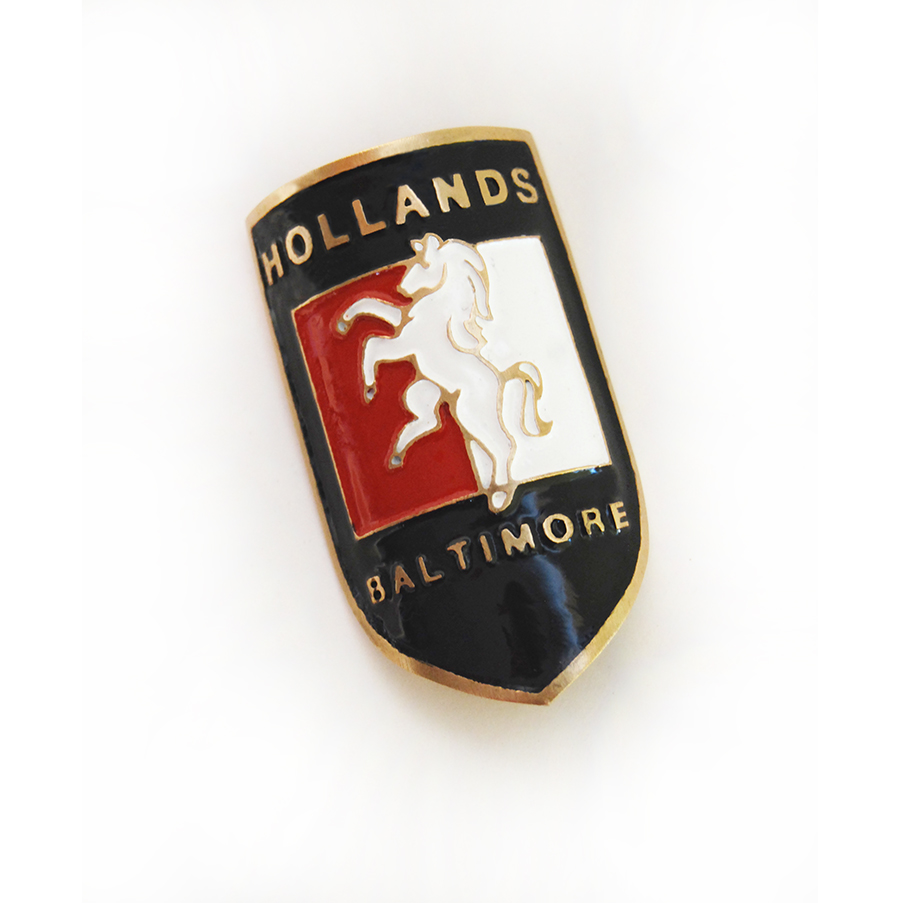 Hollands Headbadge
