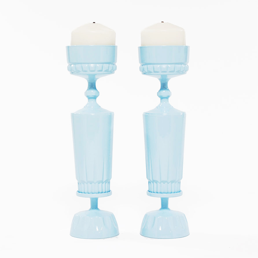 Blue Candle Sticks from Candle Sticks