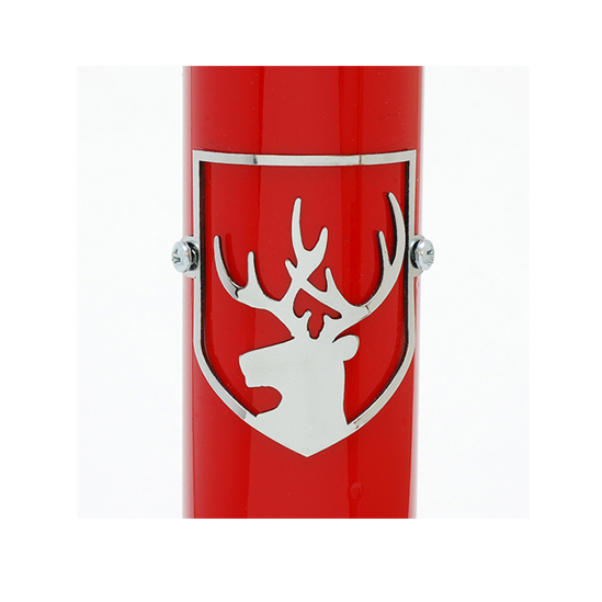 Stainless Deer Headbadge