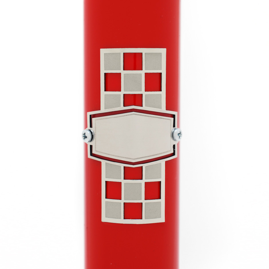Checker Board Headbadge -Add Your Name