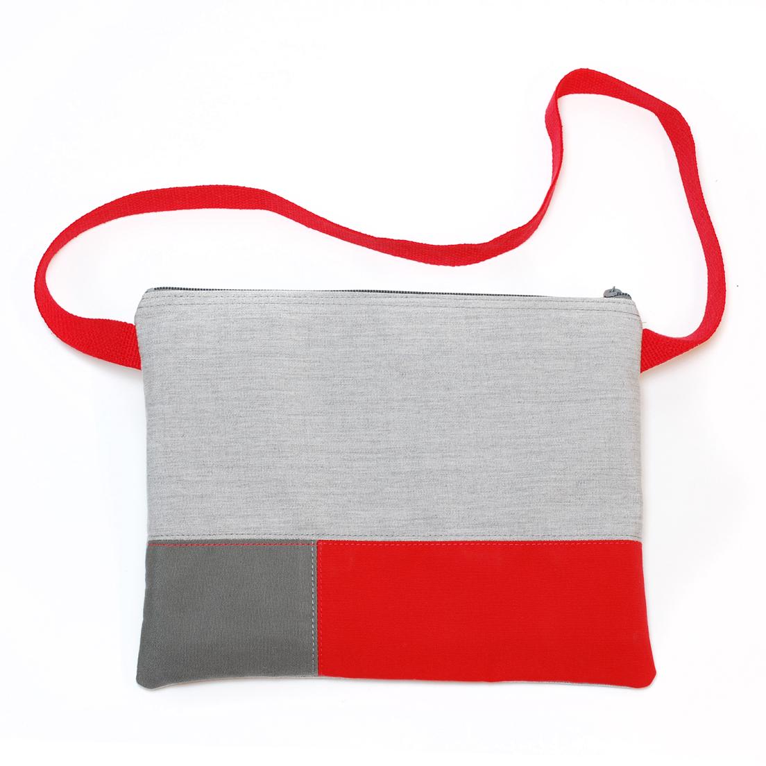 Light Grey / Red / Dark Grey