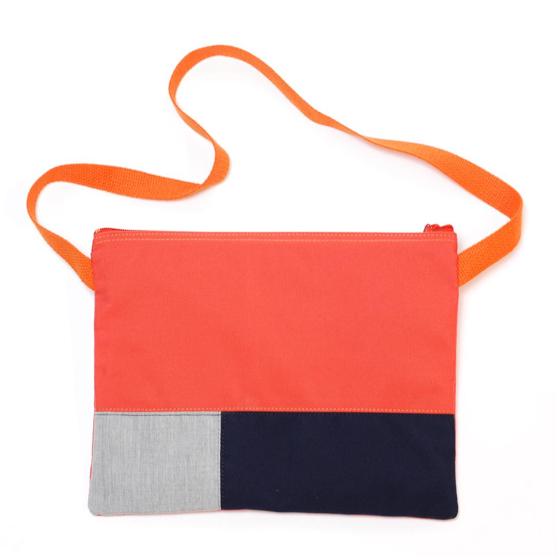 Orange / Navy / Light Grey